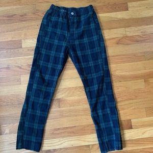 Pacsun plaid stretch pants